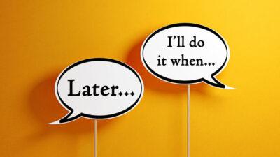 6 Easy Tips To Avoid Procrastination