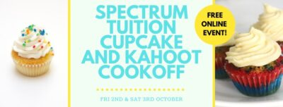 Spectrum Tuition Cupcake & Kahoot Cook-off!